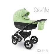 Camarelo - Carucior copii 3 in 1 Sevilla Xse-5, Verde