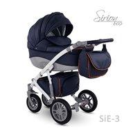 Camarelo - Carucior copii 3 in 1 Sirion Eco SiE-3, Albastru inchis