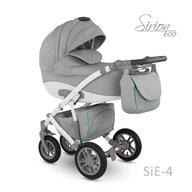 Camarelo - Carucior copii 3 in 1 Sirion Eco SiE-4, Gri
