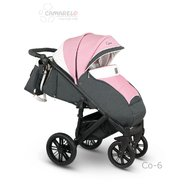 Camarelo - Carucior copii Cone Sport 2019 Co-6, Roz/Gri