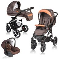 Vessanti - Carucior Crooner 3 in 1 , Brown