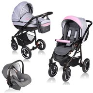 Vessanti - Carucior Crooner 3 in 1 , Pink/Gray