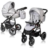 Vessanti - Carucior Crooner Prestige 2 in 1 , Light Gray