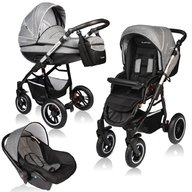 Vessanti - Carucior Crooner Prestige 3 in 1 , Gray