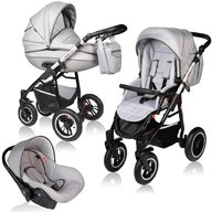Vessanti - Carucior Crooner Prestige 3 in 1 , Light Gray
