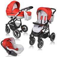 Vessanti - Carucior Crooner Prestige 3 in 1 , Red