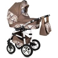 Vessanti - Carucior Flamingo Easy Drive 3 in 1 , Brown