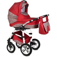 Vessanti - Carucior Flamingo Easy Drive 3 in 1 , Red