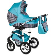 Vessanti - Carucior Flamingo Easy Drive 3 in 1 , Turquoise