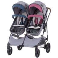 Chipolino - Carucior gemeni  Duo Smart boy girl linen