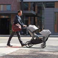 Baby Jogger - Carucior gemeni City Select Lux Sistem 2 in 1, Port