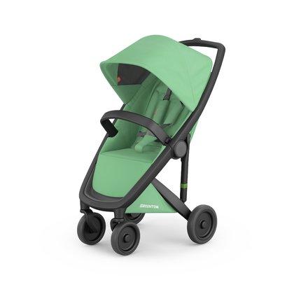 Greentom - Carucior Classic Upp, 100% ecologic, Black Mint