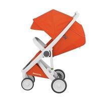 Greentom - Carucior Classic Upp, 100% ecologic, White Orange