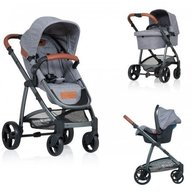 Kiddo - Carucior Jazz 3 in 1 Stone Brown