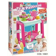 RS Toys - Set de joaca Carucior pentru servirea ceaiului Cu accesorii