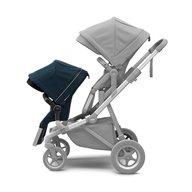 Thule - Carucior Sleek pentru 2 copii, Navy Blue