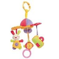 Carusel Muzical Iepuras, Ceas & Gentuta - Brevi Soft Toys