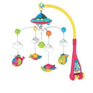 Lorelli - Carusel muzical Sky Cu proiector, Cu lumini si sunete, Multicolor