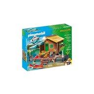Playmobil - Casuta de lemn pe lac