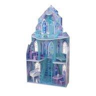 KidKraft - Casuta din lemn pentru papusi Castelul Frozen