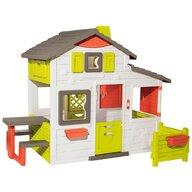 Smoby - Casuta pentru copii Friends Playhouse Neo Cu gradina