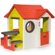 Smoby - Casuta pentru copii My House cu masuta picnic