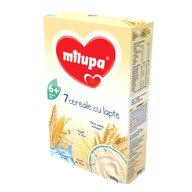 Milupa - Cereale cu lapte, 7 Cereale, 250g, 6luni+