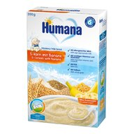 Humana - Cereale, Cu 5 Cereale Si Banane, 200g, 6 Luni+