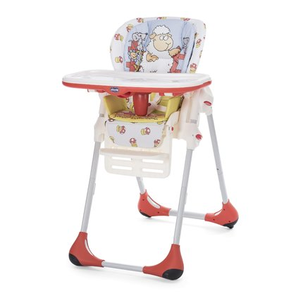 Chicco Scaun de masa Polly 2 in 1 Double Phase Sheep