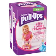 Chilotei de tranzitie Huggies Pull-Ups masura 5/M Girl 14 buc, 11-18 kg