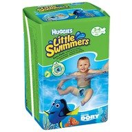 Chilotei-scutece pentru inot Huggies Dory Little Swimmers (nr 3-4) 12 buc, 7-15 kg