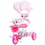 Chipolino Tricicleta cu copertina Bear pink