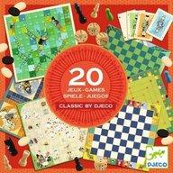 Djeco - Colectie cu 20 jocuri clasice