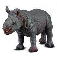 Collecta Figurina Pui de Rinocer Alb S