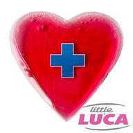Little Luca - Compresa cu gel Inima Roz