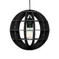 Foldo - Corp de iluminat din carton Sphera Black