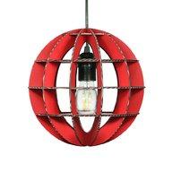 Foldo - Corp de iluminat din carton Sphera Red