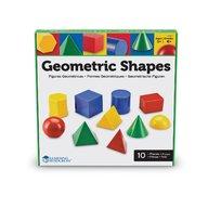 Learning Resources - Corpuri geometrice din plastic 10 piese