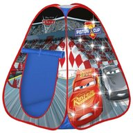 John - Cort de joaca Cars, cu lumini, 85x85x95 cm
