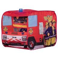 John - Cort de joaca Fireman Sam Fire Truck Sam, cu girofar, 100x70x75 cm