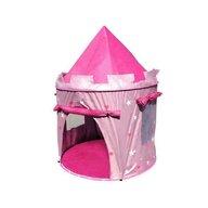 MamaMemo - Cort de joaca pentru copii roz,