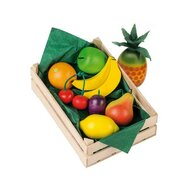 Erzi - Cos fructe asortate din lemn,