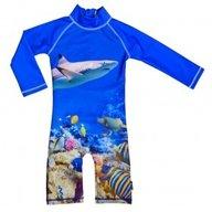 Costum de baie Coral Reef marime 98- 104 protectie UV Swimpy