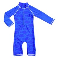 Swimpy - Costum de baie Fish Blue , protectie UV , marime 74-80