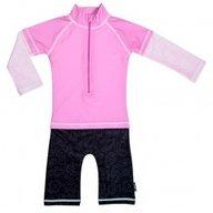 Costum de baie Pink Ocean marime 62- 68 protectie UV Swimpy