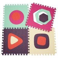 BToys - Covoras puzzle cu forme geometrice