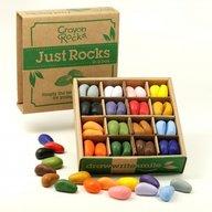 Crayon Rocks - Set 64 buc/16 culori creioane cerate