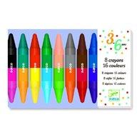 Djeco - Creioane de colorat duble