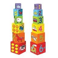 New Classic Toys - Cuburi de lemn