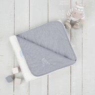 CuddleCo. - Paturica reversibila din tricot/fleece 90x70 cm Comfi Love Grey